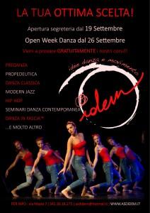 locandina danza